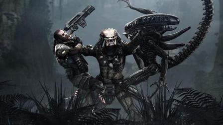 比《真实的谎言》还好看的科幻片, 施瓦辛格大战铁血战士, 精彩!