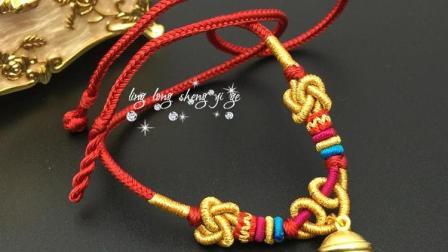 淘宝玲珑绳艺阁:一一项链绳教程