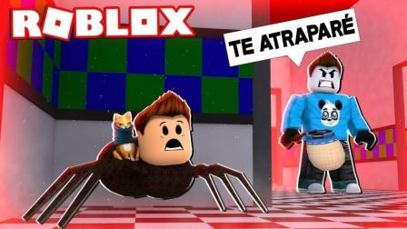 【Roblox萌宠逃生模拟器】极速蜗牛疯狂逃生! 成为追捕者! 小格解说 乐高小游戏