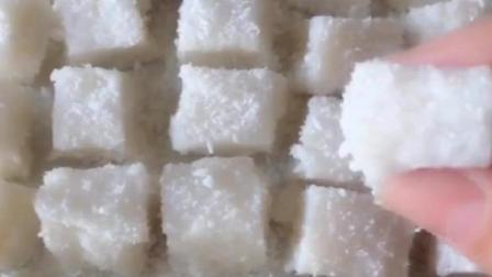 《椰蓉奶冻》精美甜点做法: 家庭必备美味甜品, 孩子的最爱, 做法简单