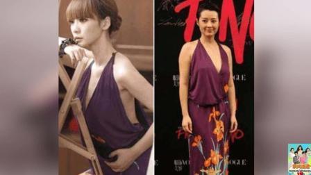 这条紫裙两万八! 确实漂亮! 但要看谁穿, 她穿上好尴尬!