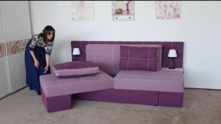 别再买传统沙发了, 小户型节省空间利器, 多功能折叠沙发床