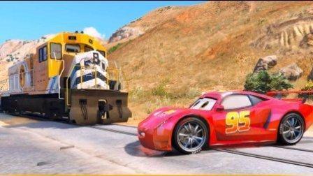 超级飞侠3闪电麦昆 变形金刚小汽车赛车总动员