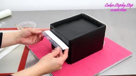 《翻糖蛋糕》这样精致的化妆箱, 谁舍得吃