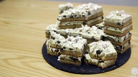一筒生活美食: 奥利奥抹茶海绵蛋糕