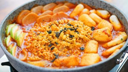 美味一锅端的韩式部队锅, 在家里也能吃的很满足~