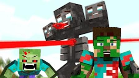 大海解说 我的世界Minecraft 丧尸之战3潜入丧尸村