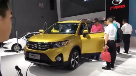 广汽传祺GS3车展亮相 售价7万元的最美小型suv