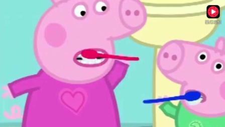 粉红色的猪小妹: 佩奇把新鞋子脱下来, 在泥坑里换上了靴子