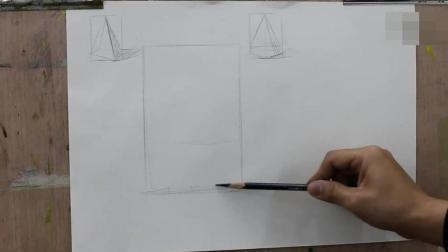 椎体素描基础教程书 完美教学素描静物 如何学素描
