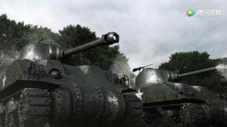 二战美军与德军坦克的对抗, 堪比狂怒!