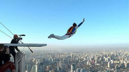 世界上最危险的极限运动! 失手瞬间是死亡, 只是看看手心就直冒汗