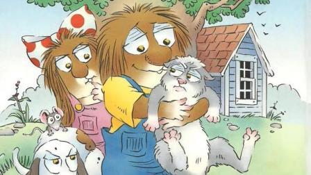 幼儿英语启蒙 汪培珽英文书单 小毛怪系列-What a good kitty