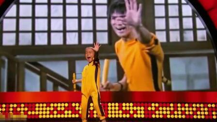 这孩子要成精, 模仿动作, 最像李小龙, 全世界就属他!