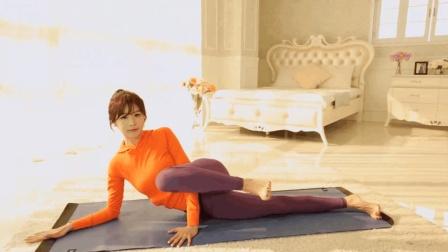 送给腿粗的姑娘们: 学会这个瘦腿操, 没人能看出你穿了秋裤! 