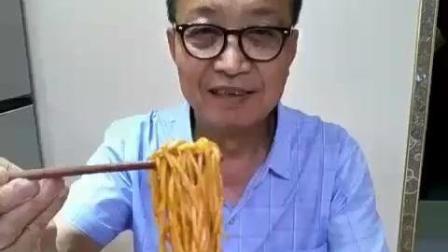 舌尖上的美食: 陕西大爷吃麻酱凉面, 美味可口容易做!
