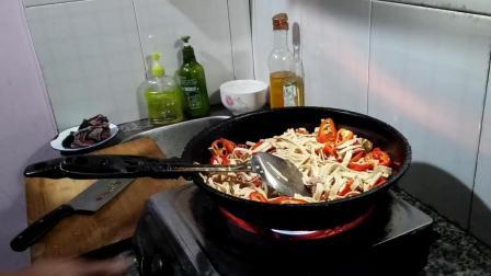 蘑菇炒肉家常做法大全 赣州市南康区赤土畲族乡特产美食视频