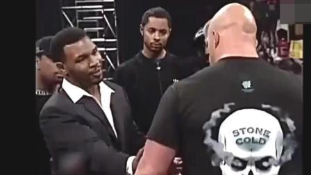 巅峰泰森一言不合就暴揍! WWE巨星奥斯丁挑衅泰森惨遭暴打