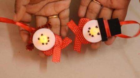 圣诞节小手工, 简易圣诞节装饰饰品小挂件DIY手工自制