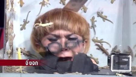 泰国综艺节目恐怖箱系列 拿命玩 国内真人秀弱爆了 根本没法比
