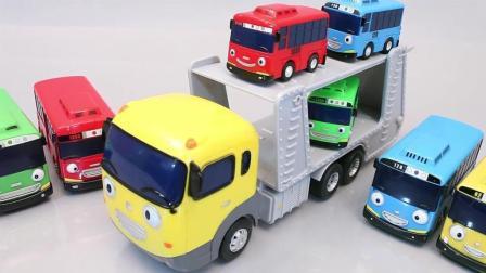 新玩具! 小公交车太友儿童欢乐时光发条玩具小车车