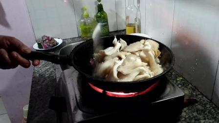 青椒蘑菇炒肉丝家常做法大全 赣州市南康区坪市乡特产美食视频