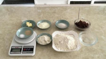 戚风蛋糕教程 烘焙学校 君之八寸戚风蛋糕做法