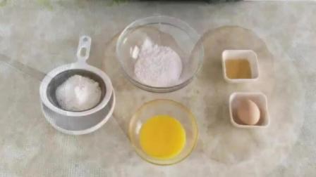 戚风蛋糕制作教程 蛋糕烘焙教程 做烘焙在哪里学