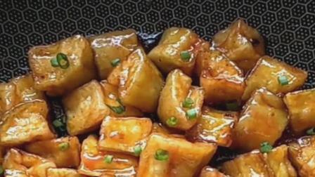 糖醋脆皮茄子的家庭做法: 茄子做成这样味道美极了, 吃米饭绝对下饭