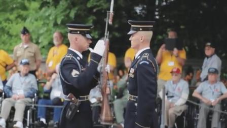 美国陆军步枪检查配上这个音乐真的绝了, 笑到爆!