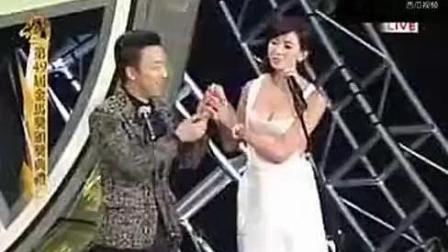 49届金马奖颁奖典礼 林志玲借位激吻黄渤