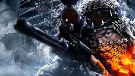 狙击手真恐怖! 一枪就把车直接给打爆了! 这是什么狙击枪?