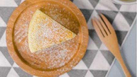 香嫩可口的微波炉《柠檬酸奶小蛋糕》在办公室也可以做噢~