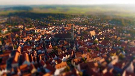 充满欧洲风情优美的小镇竟有惊天秘密, 建筑中镶嵌了7.2万吨钻石