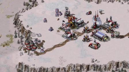 红色警戒2之共和国之辉09 美国V法国 雪谷
