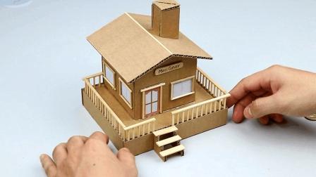 完美的手工制作, 本以为就是个小房子, 最后发现还有其他功能