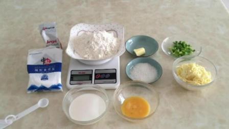 烘焙教程面包 面包烘焙技术 抹茶戚风蛋糕的做法