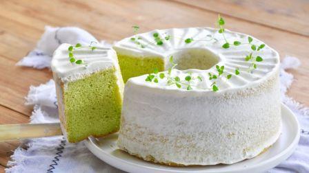 香兰叶戚风蛋糕~新加坡网红绿蛋糕