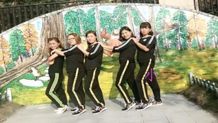 广场舞鬼步舞全是爱12步基础奔跑侧滑步教学