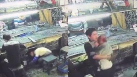 火龙果传媒 第一季 监拍女子操作机器不慎 头发被卷光