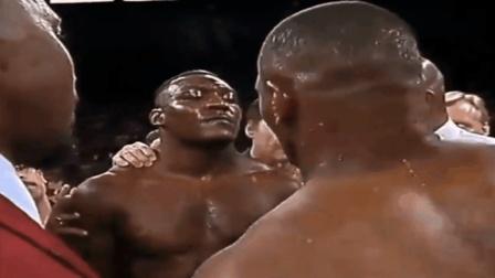 看不起45战44胜的泰森, 管你是WBA重量级拳王照样难逃被泰森KO!