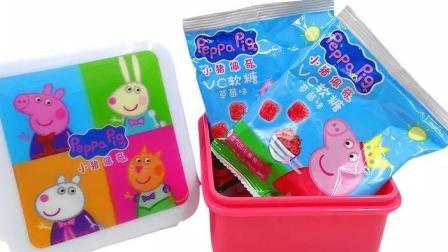 【小猪佩奇】vc软糖试吃草莓味 超级飞侠 猪猪侠 熊出没