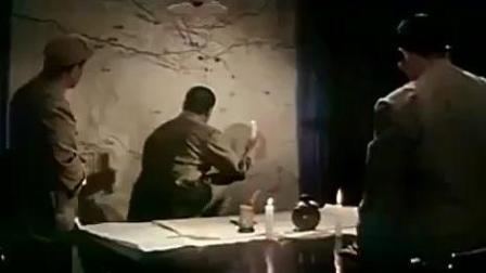 看彭德怀元帅深夜开会部署消灭马家军的画面!