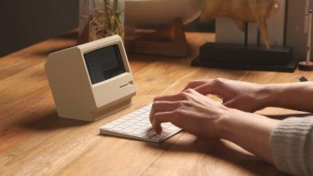 手机变身复古小电脑,桌面吸睛能力MAX!