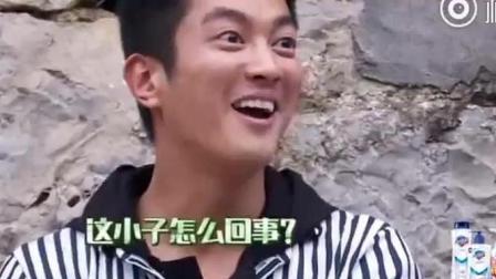嗯哼不仅偷亲小姐姐, 还亲导演姐姐, 杜江看到一脸惊讶!