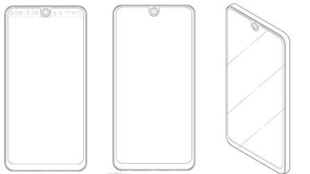 LG手机新专利, 长的和跟其它手机非常像?