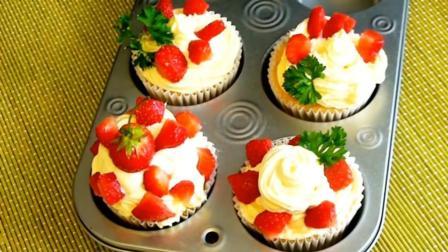 这样做的草莓奶油蛋糕, 入口爽滑、香鲜美味, 越吃越爱吃