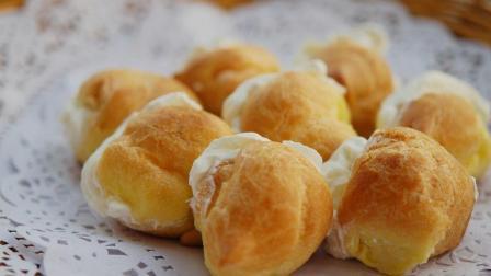 全球美食快递员——糕点之奶油泡芙