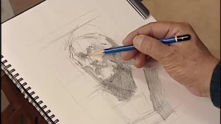 素描图片素描基础入门教学素描48素描教学视频素描少女