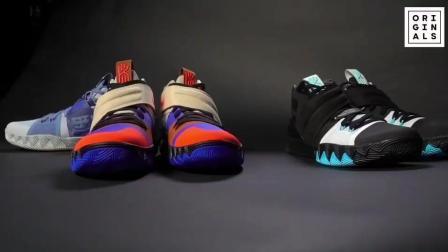 球鞋也玩合体, 欧文的三代战靴集结在一起!